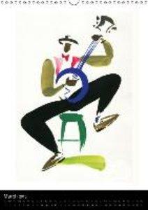 JAZZ swinging New Orleans (Wall Calendar 2015 DIN A3 Portrait)