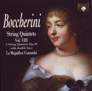 BoccherinI:Quintets Opus 39.Vol.8 With Double Bass