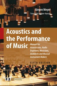 Acoustics and the Performance of Music