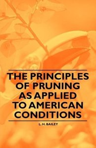 The Principles of Pruning as Applied to American Conditions