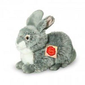 Teddy Hermann 93773 - Hase sitzend grau, 25 cm
