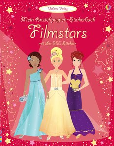 Mein Anziehpuppen-Stickerbuch: Filmstars