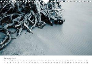 (H2O)12 in B&W (Wall Calendar 2015 DIN A4 Landscape)