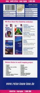 Reise Know-How Landkarte Südafrika Kapregion 1 : 500.000