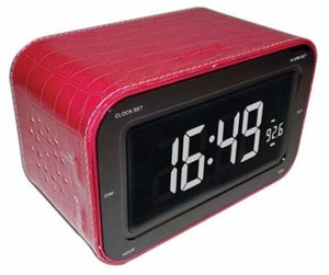 Radiowecker RR30 - Red Leather