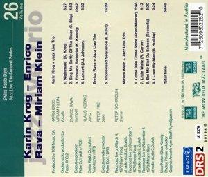 Jazz Live Trio Concert Series Vol.26