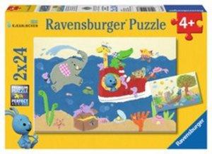 Ravensburger 09197 - Kikaninchen: Auf Entdeckungsreise, Puzzle,