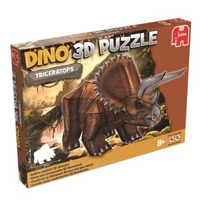 Dinosaurier Puzzle 3 D - Triceratops - 41 Teile