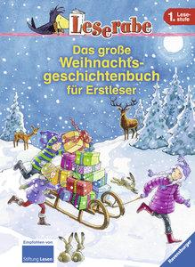 Das große Weihnachtsgeschichtenbuch für Erstleser
