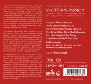 Matthäus-Passion BWV 244