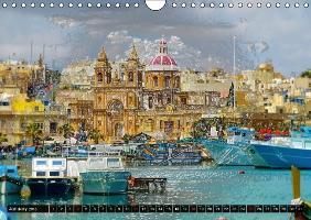 Malta and Gozo Amazing Islands (Wall Calendar 2015 DIN A4 Landsc - zum Schließen ins Bild klicken