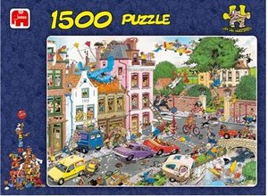 Jan van Haasteren - Freitag der 13. - 1500 Teile Puzzle