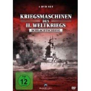 Kriegsmaschinen des 2. Weltkriegs - Schlachtschiffe