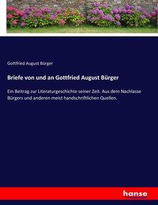Briefe von und an Gottfried August Bürger