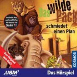 Das wilde Pack Folge 2: Das wilde Pack schmiedet einen Plan (Aud