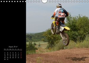 Motocross - MX UK-Version (Wall Calendar 2015 DIN A4 Landscap