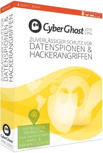 CyberGhost 5 Premium Plus VPN Edition 2015 (5 PC/1Jahr)