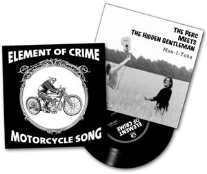Motorcycle Song/Man-I-Toba (White Vinyl)
