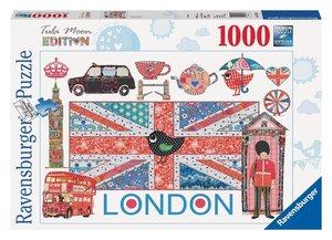 Ravensburger 19372 - Tula Moon: London, 1000 Teile Puzzle