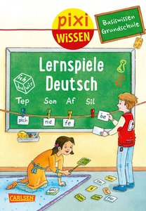 Pixi Wissen 98: VE 5 Basiswissen Grundschule: Lernspiele Deutsch