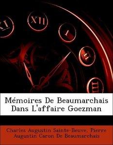 Mémoires De Beaumarchais Dans L'affaire Goezman