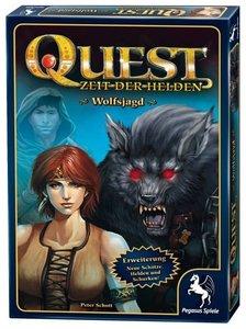 Pegasus Spiele 65015G - Quest: Wolfsjagd (Erweiterung)