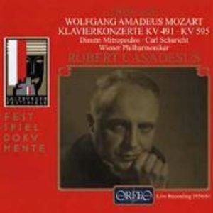 Klavierkonzerte c-Moll KV 491/B-Dur KV 595