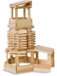Eichhorn 100001601 - Holzbaukasten, 100-teilig