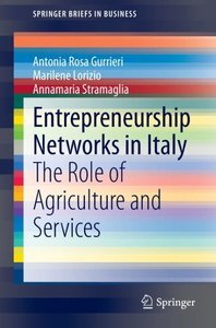 Entrepreneurship Networks in Italy