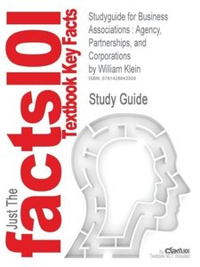 Studyguide for Business Associations