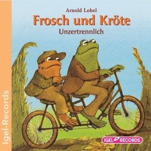 Frosch Und Kröte.Unzertrennli