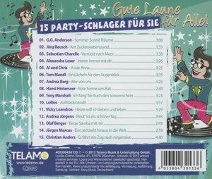 Gute Laune für Alle - 15 Party-Schlager für Sie