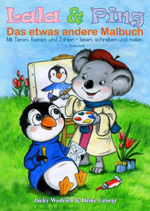 Lala & Ping - Das etwas andere Malbuch