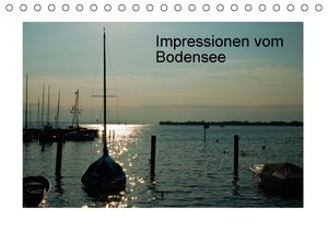 Impressionen vom Bodensee (Tischkalender 2016 DIN A5 quer)