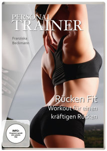 Personal Trainer-Rücken fit