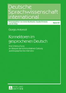 Konnektoren im gesprochenen Deutsch