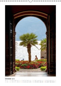 Lake Garda / UK-Version (Wall Calendar 2015 DIN A3 Portrait)