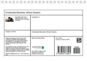 Emotionale Momente: African DreamsCH-Version