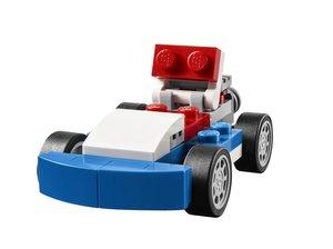 Lego Creator 31027 - blauer Rennwagen, 3-in-1 Set