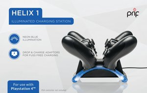 HELIX 1 - Illuminated Controller Charging Station PS4