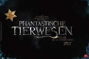 J.K. Rowling: Fantastic Beasts Broschur XL - Kalender 2017