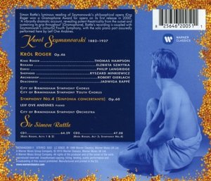 King Roger/Sinfonia Concertante