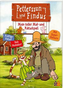 Pettersson & Findus. Mein toller Mal- und Rätselspaß