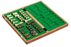Philos 2610 - De Luxe Schachkassette, Feld 40 mm, Königshöhe 78
