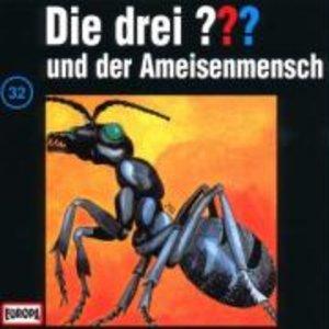 Die drei ??? 032 und der Ameisenmensch. (drei Fragezeichen). CD
