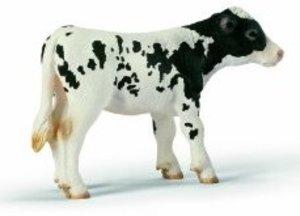 Schleich 13634 - Farm Life: Kalb, schwarzbunt