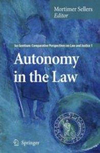 Autonomy in the Law