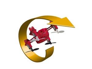 Revell Control 23965 - RC Quad Copter Nano PRO, ca. 4,5 cm