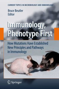 Immunology, Phenotype First