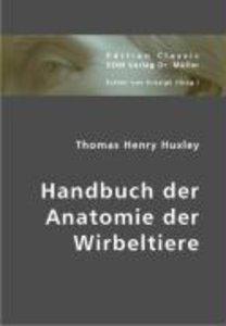 Handbuch der Anatomie der Wirbeltiere